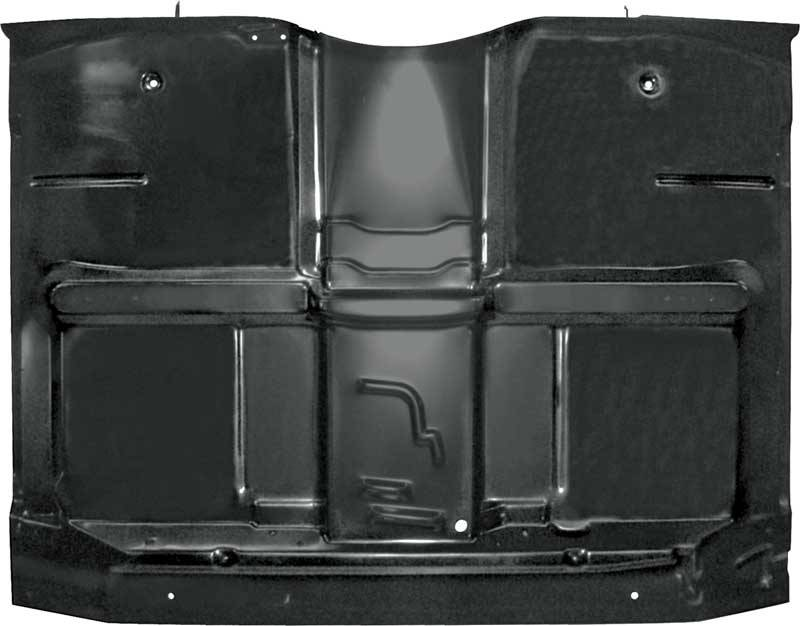 Full Cab Floor Pan W Under Floor Braces Low Hump 69 72