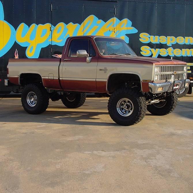 "Rear Windshield Wiper >> 8"" Superlift Suspension Lift w/Rear Springs, 73-91 Blazer & Suburban, 73-87 Pickup 1/2 Ton (FREE ..."