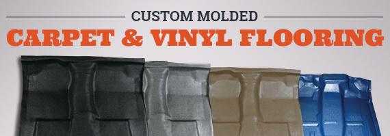 Custom Molded Carpet & Vinyl Flooring