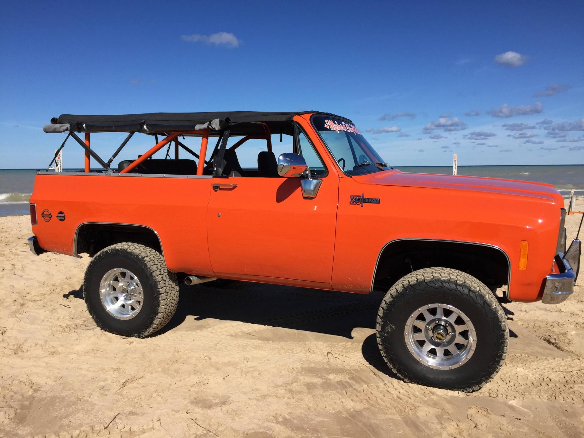 Photo Gallery - SOLD 1973 Chevrolet K5 Blazer w/Cheyenne ...