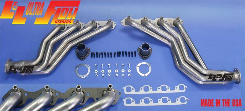396/454 Headers Chassis Exit w/Air Injection Fittings
