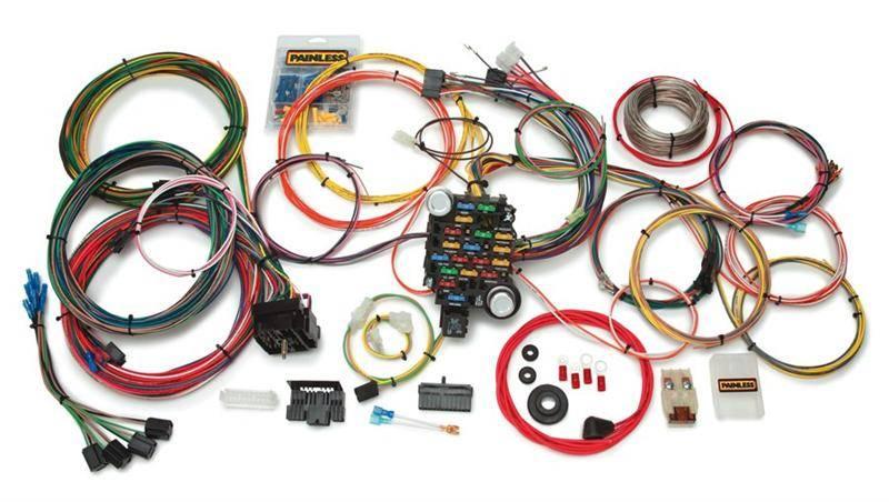 [SCHEMATICS_48IS]  Painless 27 Circuit Classic-Plus Customizable Wiring Harness, 73-91 Blazer  & Suburban, 73-87 C/K Pickup | Truck Camper Wiring Harness Gm |  | Motor City K5