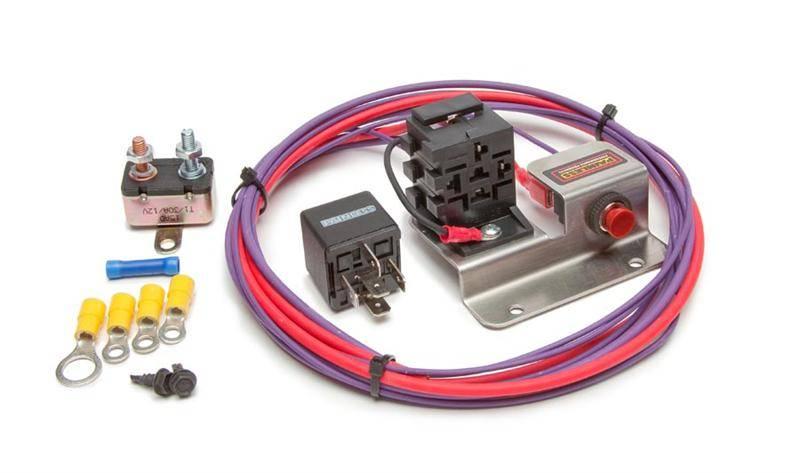 painless hot shot plus w engine bump switch relay kit rh motorcityk5 com painless wiring headlight relay kit painless wiring headlight relay kit