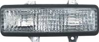 Classic Industries - Park Lamp Assembly w/Dual Headlamps, RH, 89-91 Blazer & Suburban