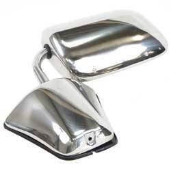 Classic Industries - Outer Door Mirror (Each), Stainless, RH or LH, 79-91 Blazer & Suburban, 79-87 C/K Pickup