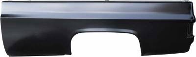 Classic Industries - 8' Long Bed Side w/o Fuel Filler Hole, LH, 73-91 C/K Pickup