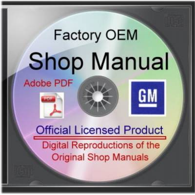 Gearhead Cafe - CD-Rom Shop Manual, 79 Chevy Light Truck