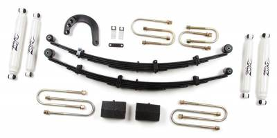 """Zone Offroad Products - 4"""" Lift Kit, 1/2 Ton, 88-91 Blazer & Suburban"""