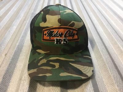MCK5 SnapBack Camo Trucker Hat