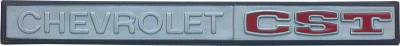 Chevrolet CST Glovebox Emblem, 69-72 Blazer, 69-70 Suburban & Pickup