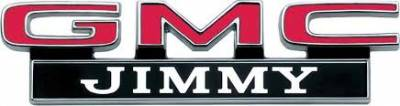 GMC Hood Letter Set, 69-72 GMC Jimmy, 68-72 Suburban & Pickup