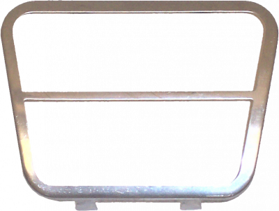 Brake or Clutch Pedal Pad Trim (Each), 69-72 Blazer, 67-72 Suburban & Pickup