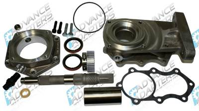 GM 4L60E ADAPTER TO GM NP205 10 SPLINE
