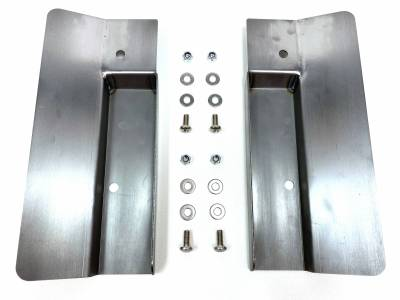 Rear Gravel Shields (Pair), 72 Blazer