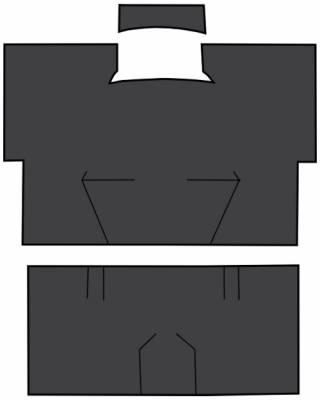 Auto Custom Carpets - Sound Deadener w/EVA, Front Passenger Area (3 pc), 78-91 Blazer, 73-91 Suburban 73-91 Crew Cab Pickup