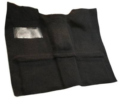Auto Custom Carpets - Carpet Front Passenger Area w/High Tunnel, 69-72 Blazer