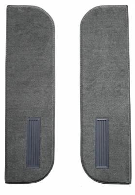 Auto Custom Carpets - Carpet Door Panels on Cardboard w/Vents 73-77 (2 Pc)