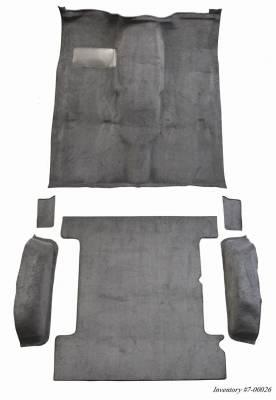 Auto Custom Carpets - Carpet Complete 2wd or 4wd, 85-91 Blazer