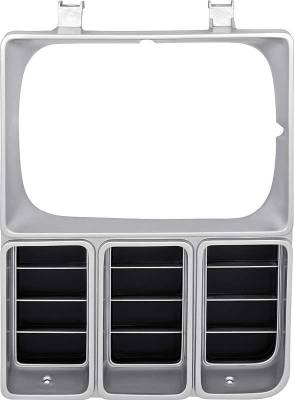 Classic Industries - Headlamp Bezel w/Single Headlamps, Argent, LH, 81-82 Blazer, Suburban & C/K Pickup