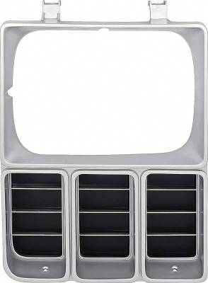 Classic Industries - Headlamp Bezel w/Single Headlamps, Argent, RH, 81-82 Blazer, Suburban & C/K Pickup