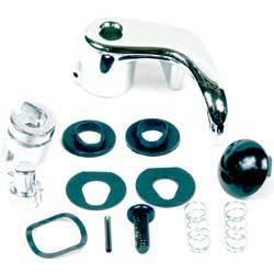 Classic Industries - Vent Window Handle w/Black Painted Pin, LH, 73-91 Blazer & Suburban, 73-87 C/K Pickup