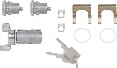 Classic Industries - Ignition & Door Locks w/Late Style Key, 79-91 Blazer & Suburban, 79-87 C/K Pickup