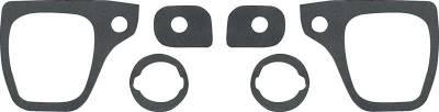Classic Industries - Outer Door Handle & Lock Gasket Set, 73-91 Blazer & Suburban, 73-87 C/K Pickup