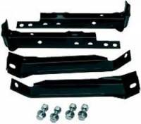 Rear Bumper Bracket Set, 2wd (4pc w/Hardware) 69-72 Blazer, Suburban, C/K Pickup