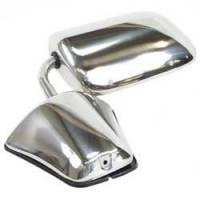Body - Door Parts - Classic Industries - Outer Door Mirror (Each), Stainless, RH or LH, 79-91 Blazer & Suburban, 79-87 C/K Pickup