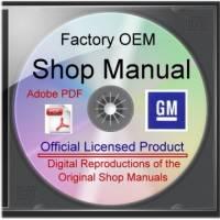 Gearhead Cafe - CD-Rom Shop Manual, 71-72 GMC 1500-3500