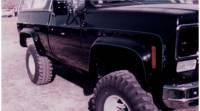 Bushwacker - Cut-Out Fender Flares, Front (Pair), 73-80 Blazer, Suburban & Pickup - Image 4