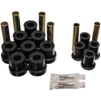 73-91 Suburban - Bushings & Bumpers - Energy Suspension - Front Leaf Spring Bushing Kit w/Stock Springs, 88-91 Blazer & Suburban