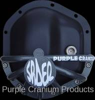 Dana 44 Front - Covers & Protection - Purple Cranium Products - Dana 44 Half Spider Differential Rock Guard