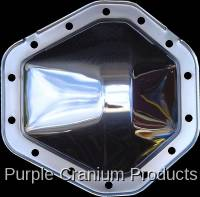 """14 Bolt 10.5"""" - Covers & Protection - Purple Cranium Products - Chrome Differential Cover, 14 Bolt 10.5"""" RG"""
