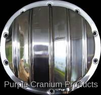 10 Bolt Rear - Covers & Protection - Purple Cranium Products - Polished Aluminum Differential Cover, 10 Bolt Rear