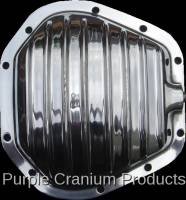 Purple Cranium Products - Polished Aluminum Differential Cover, Dana 50, 60, 70 Front