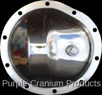 "GM 8.5"" Front w/28 Spline Inner Axle - Covers & Protection - Purple Cranium Products - Chrome Differential Cover, GM 8.5"" (10 Bolt) Front"