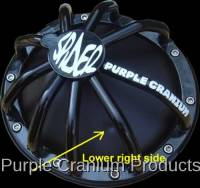 10 Bolt Rear - Covers & Protection - Purple Cranium Products - Chevy 10 Bolt Full Spider Differential Rock Guard