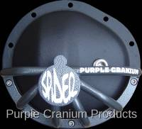 "GM 8.5"" Front with 30 Spline Inner Axle - Covers & Protection - Purple Cranium Products - GM 8.5"" (Chevy 10 Bolt) Half Spider Front Differential Rock Guard"