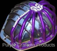 """14 Bolt 10.5"""" - Covers & Protection - Purple Cranium Products - Chevy 14 Bolt Half Spider Differential Rock Guard 10.5"""" RG for PCP Aluminum Cover"""