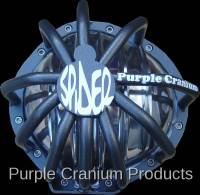 12 Bolt - Covers & Protection - Purple Cranium Products - Chevy 12 Bolt Full Spider Differential Rock Guard for PCP Aluminum Cover