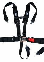 "Interior - Aftermarket Seat Belts - PRP Seats - 3"" Competition Style 5 Point Harness w/2"" Shoulder Straps"