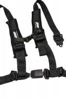 "Interior - Aftermarket Seat Belts - PRP Seats - 2"" 4 Point Harness w/Automotive Style Latch"