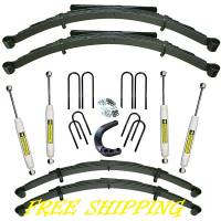 "Suspension - Lift Kits - Superlift Suspension - 6"" Superlift Suspension Lift w/Rear Springs, 73-91 Blazer & Suburban, 73-87 Pickup 3/4 Ton (FREE SHIPPING)"