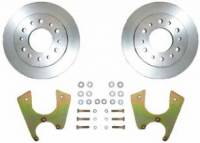 Brakes - Rear Disc Brake Kits - TSM Manufacturing - Rear Disc Brake Kit, GM Truck 6 Lug, 69-91 Blazer/Suburban, 67-87 1/2 Ton Pickup