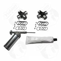 "Dana 44 Front - Axle Shafts - Yukon Gear & Axle - Yukon Chrome Moly Superjoint Kit, Dana 44 & GM 8.5"", 72-91 Blazer & Suburban, 72-87 Pickup"