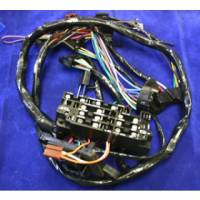 Electrical - Wiring - American Autowire - Under Dash Harness w/Warning Lights, 69-72 Blazer, Suburban & Pickup