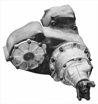 73-91 Suburban - Transfer Case - NP203