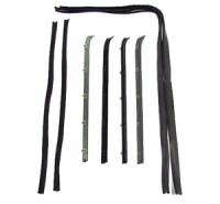 73-91 Suburban - Weatherstrip - Fairchild Industries - 8 Piece Front Door Anti Rattle Kit, 73-80 Blazer, Suburban & C/K Pickup