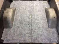 Interior - Carpet - Rear Cargo Area Jute Padding, 69-72 Blazer
